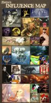 Influence Map by Zietro