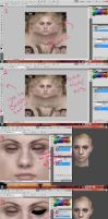 Basic Make Up Tutorial For 3D Models by Emmie-Pendleton