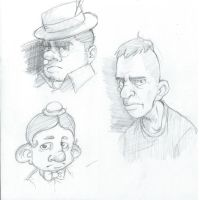 Sketch faces by devpose