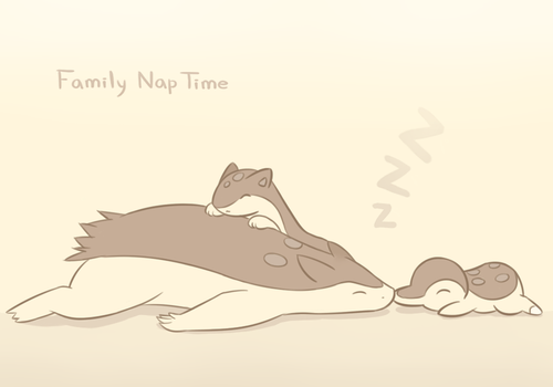 Family Nap Time by Mizzi-Cat