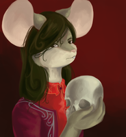Alas, poor Yorick by mouseymachinations