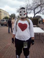 Zacharie Cosplay Mizuumi COn 7 by NeonStraightJacket