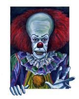 Pennywise from Stephen King's It by Caricature80