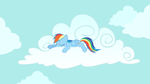 Dash is Busy... Napping by ShelltoonTV