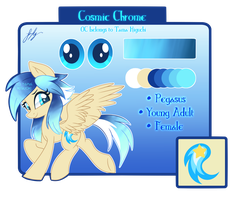 Cosmic Chrome Reference Sheet by Picklesquidly