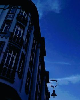 Blue Building by LK-2106