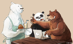 7- we bare bears by Sydsir