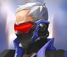 339/365 Soldier 76 by snatti89