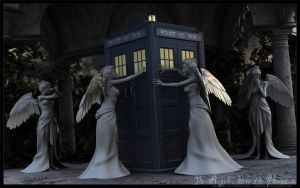 The Angels have the Phonebox by Puntomaus
