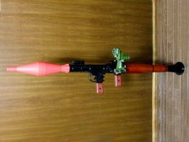 RPG-7(Ada Ver.) Rocket launcher -Resident Evil 4- by Enfield9346