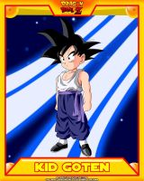 DBZ-Kid Goten V2 by el-maky-z