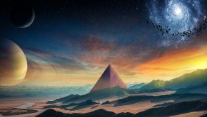 Pyramid by FantasyArt0102