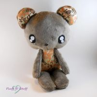 Kawaii Teddy Bear by SailorMiniMuffin