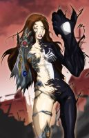 Witchblade vs Venom by RamenStudio