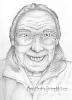 Grandma Ruthie - In Loving Memory by Claw-Markes