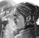 Arya Doodle by magicalavatarian
