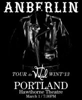 Anberlin Tour by TalesOfNightWing