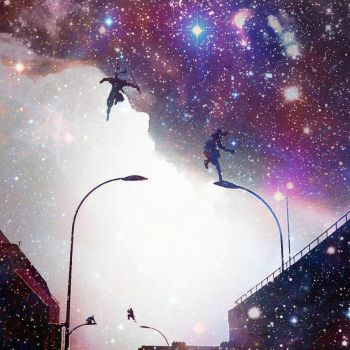 Starry Parkour by FlamesFromHell