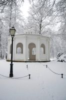 Park Maksimir during winter by SpaZzochka