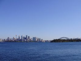 Sydney Harbour by Ebony-lee