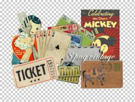 8 vintage png by Dinosaursattack