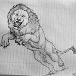 A Lion by TheSodaSmuggler