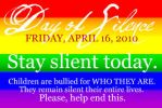 lgbt day of silence by carchieee