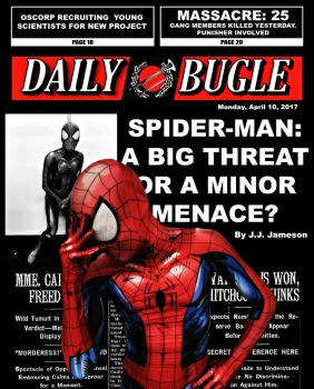 Ultimate Spider-Man - Media Manipulation by DashingTonyDrake