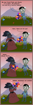 Best Use for Flowers by NorroenDyrd