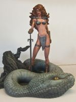 Michael Turner's Red Sonja by Joy-and-Tom-Snyder
