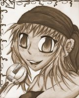 sepia winry by SodeAfro