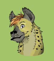 Hyena Face by SurlyQueen