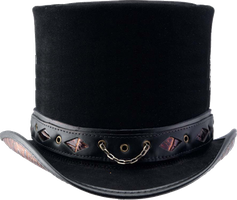 Steampunk hat by pendragon1966