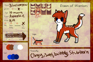 Blossompaw Updated Application by Mintymallow