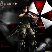 Jack Krauser by Sephirothic7