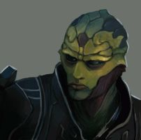 Thane Krios by FonteArt
