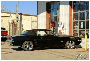 A Black1969 Camaro SS Convertible by TheMan268
