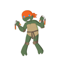 Michelangelo by Doctor-Y-Lime
