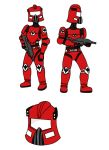Faction Troopers by Sovereign64