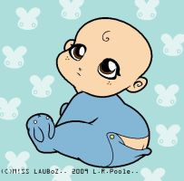 Baby blue by LAUBoZ