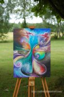 River of creation by Safirah
