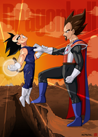 Dragonball Vegeta no kyoei by Nostal