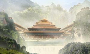 The Secret Temple by Androgs