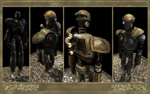 Robot - The Imperial Guard by Ng-Aniki