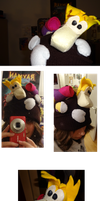 Rayman-hat~ by Sny--Eamdray