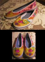 FOR SALE: Elephant Shoes by misy-chan