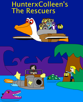 HunterxColleen's The Rescuers by jacobyel