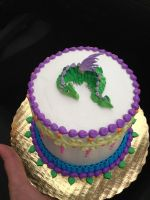 Little Dragon Birthday Cake by The-EvIl-Plankton