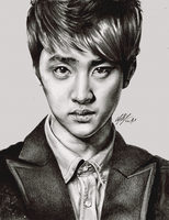 D.O. for SM Town. by FreedomforGoku