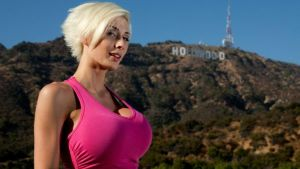 Marie Claude Bourbonnais in Hollywood by ANerdyBio